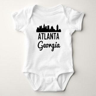 Body Para Bebê Skyline de Atlanta Geórgia