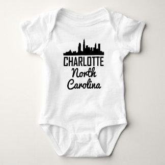 Body Para Bebê Skyline de Charlotte North Carolina