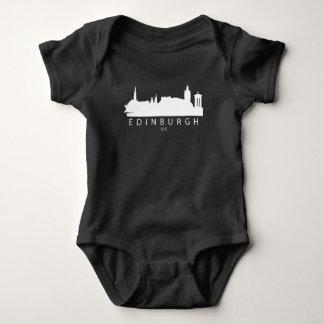 Body Para Bebê Skyline de Edimburgo Scotland Reino Unido