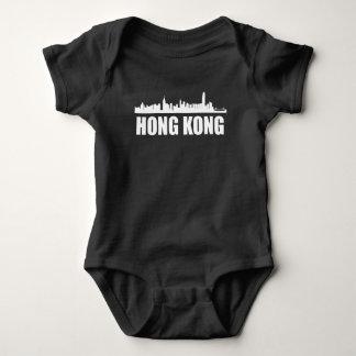 Body Para Bebê Skyline de Hong Kong
