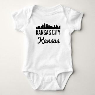 Body Para Bebê Skyline de Kansas City Kansas