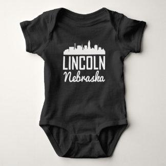 Body Para Bebê Skyline de Lincoln Nebraska