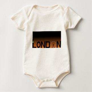 Body Para Bebê Skyline de Londres