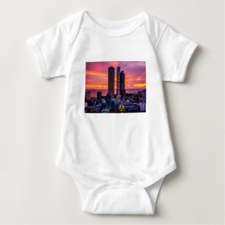 Body Para Bebê Skyline de Manila Filipinas