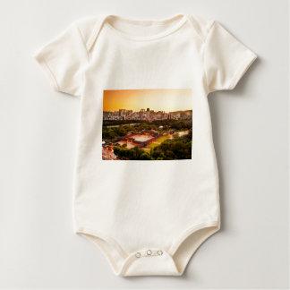 Body Para Bebê Skyline de Seoul Coreia do Sul