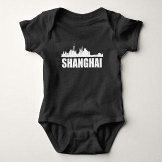 Body Para Bebê Skyline de Shanghai