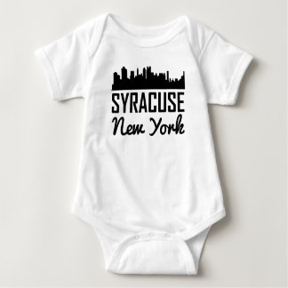 Body Para Bebê Skyline de Siracusa New York