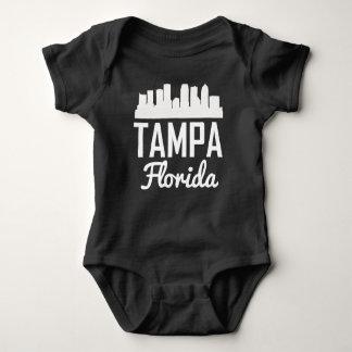 Body Para Bebê Skyline de Tampa Florida