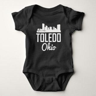 Body Para Bebê Skyline de Toledo Ohio