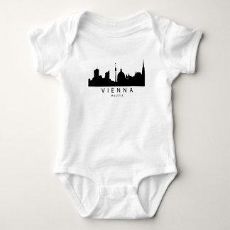 Body Para Bebê Skyline de Viena Áustria