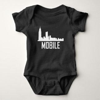 Body Para Bebê Skyline móvel da cidade de Alabama