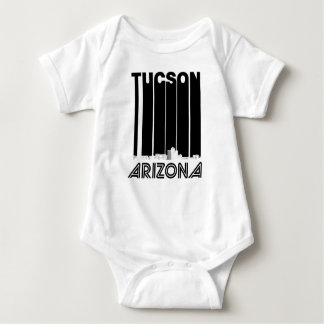 Body Para Bebê Skyline retro da arizona de Tucson