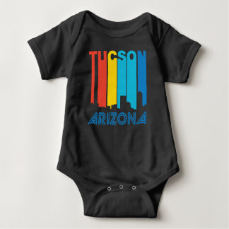 Body Para Bebê Skyline retro da arizona de Tucson do estilo dos