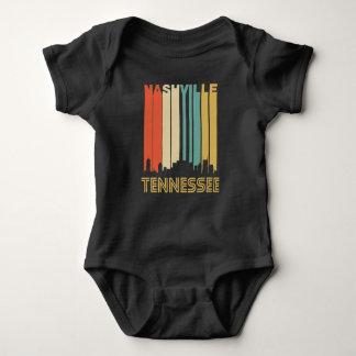 Body Para Bebê Skyline retro de Nashville