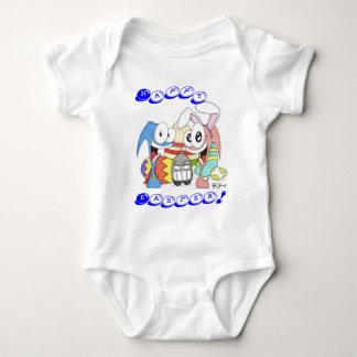 Body Para Bebê Slug super e páscoa do mandril