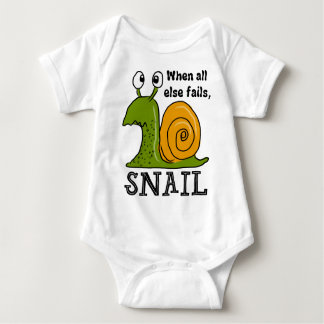 Body Para Bebê Snailing… quando falhar toda mais