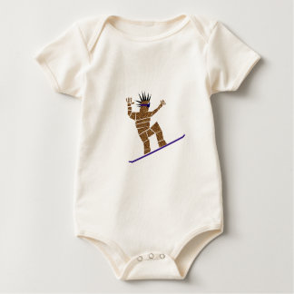Body Para Bebê Snowboarder
