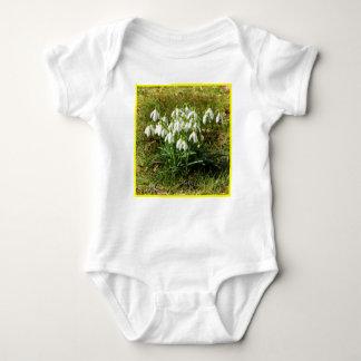 Body Para Bebê Snowdrops 02,2 (Schneegloeckchen)