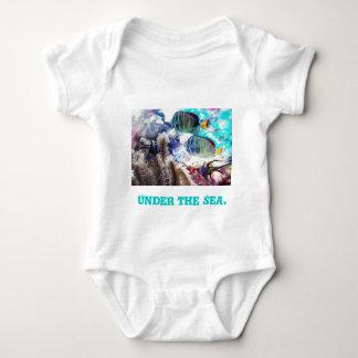 Body Para Bebê Sob o mar