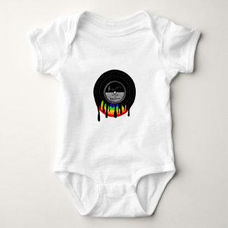 Body Para Bebê Sobre o arco-íris