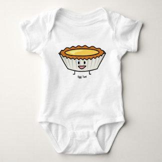 Body Para Bebê Sobremesa feliz do chinês da crosta do creme da