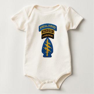 Body Para Bebê SOF SFG SOC das boinas verdes SF do grupo das