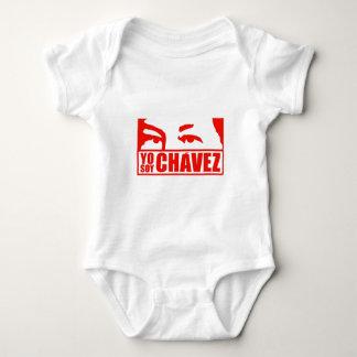 Body Para Bebê Soja Chávez - Hugo Chávez - Venezuela de Yo