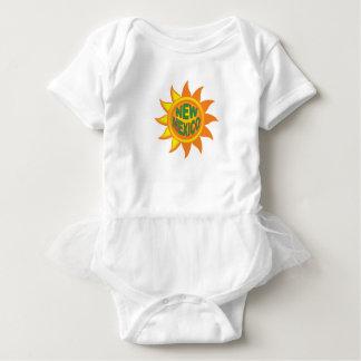 Body Para Bebê Sol de New mexico