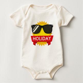 Body Para Bebê Sol legal dos sunglass