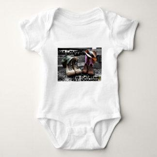 Body Para Bebê soldado da vaqueira
