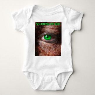 Body Para Bebê Soldados edição do cobrir do ZED da ?a