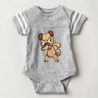 Body Para Bebê solha animal legal