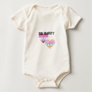 Body Para Bebê Solidariedade alegre lésbica