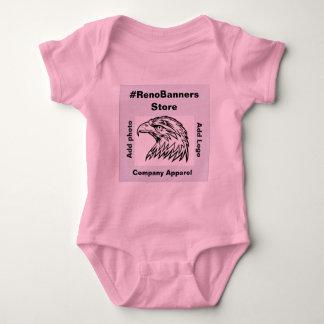 Body Para Bebê Soluções de marcagem com ferro quente do barato