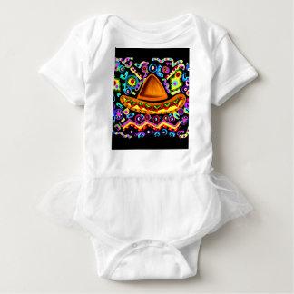 Body Para Bebê Sombrero mexicano