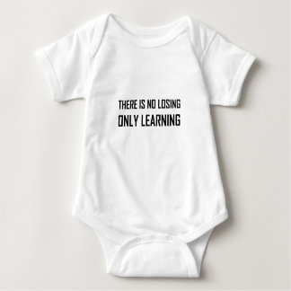 Body Para Bebê Somente divisa de aprendizagem não perdedora