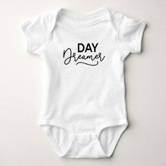 Body Para Bebê Sonhador moderno do dia do roteiro
