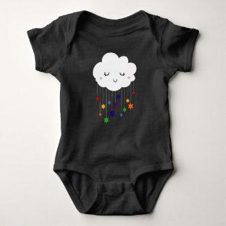 Body Para Bebê Sonhando o Bodysuit do jérsei do bebê da nuvem