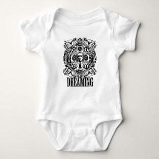 Body Para Bebê Sonhos de Lovecraftian