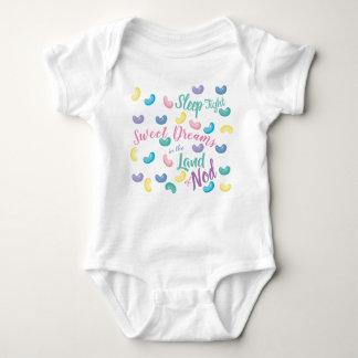 Body Para Bebê Sonhos doces coloridos dos doces