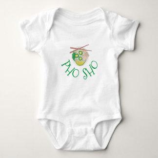Body Para Bebê Sopa de macarronete vietnamiana Foodie de Pho da