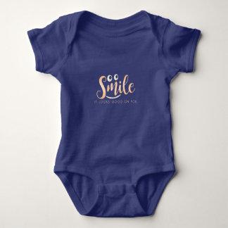 Body Para Bebê Sorriso