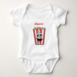 Body Para Bebê sorriso da pipoca