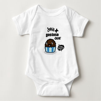 Body Para Bebê Sou mais gostoso que Brigadeiro!