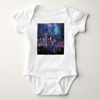 Body Para Bebê Spacey Seattle