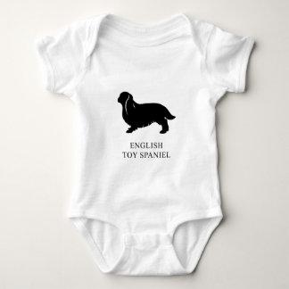 Body Para Bebê Spaniel de brinquedo inglês