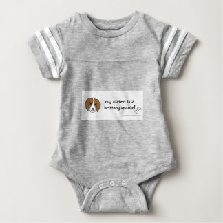 Body Para Bebê spaniel de brittany