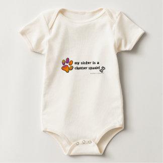 Body Para Bebê spaniel de clumber