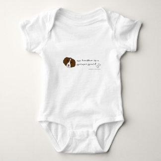 Body Para Bebê spaniel de springer