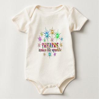 Body Para Bebê Sparkles do teatro